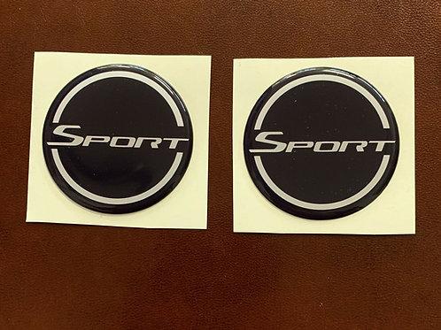 adhesivo con resina Sport