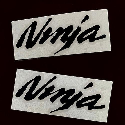 vinilo letras Ninja