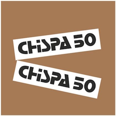 Adhesivos originales Bultaco Chispa 50