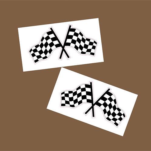 adhesivos carreras coche o moto