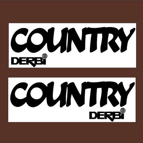 Pegatina Derbi Country