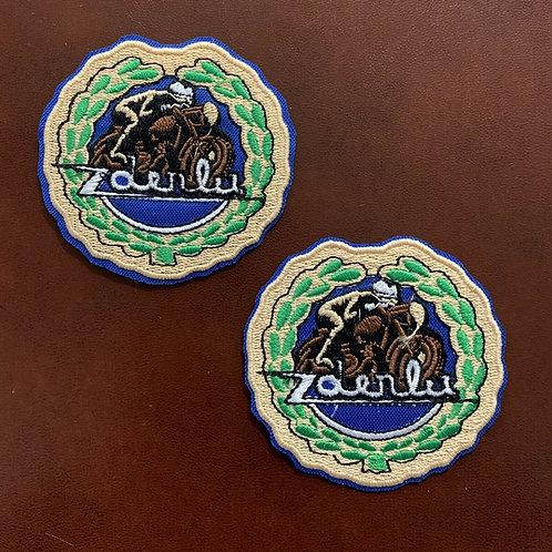 bordado logo Derbi Vintage
