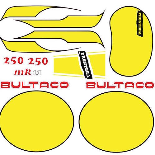 Kit Pegatinas Bultaco Frontera 250