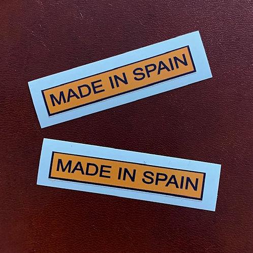 made in spain pegatinas bultaco