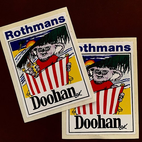 vinilos clásicos Rothmans Doohan