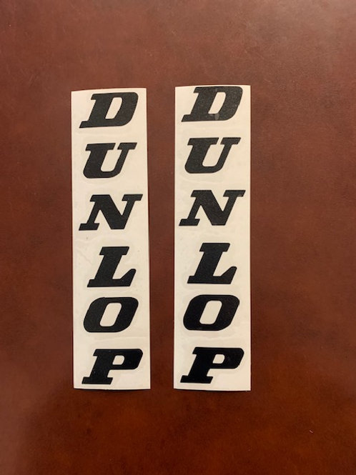 vinilo horquilla moto Dunlop