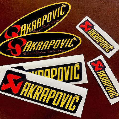 adhesivos moto akrapovic