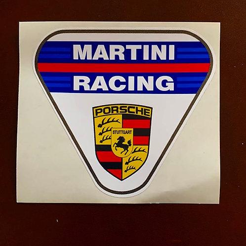pegatinas decoración coche Martini racing Porsche