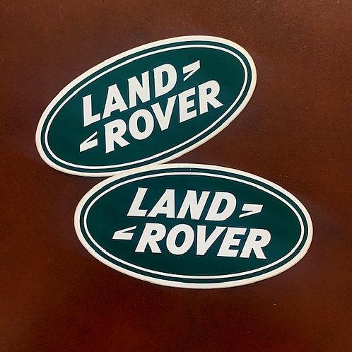 adhesivos coche Land Rover