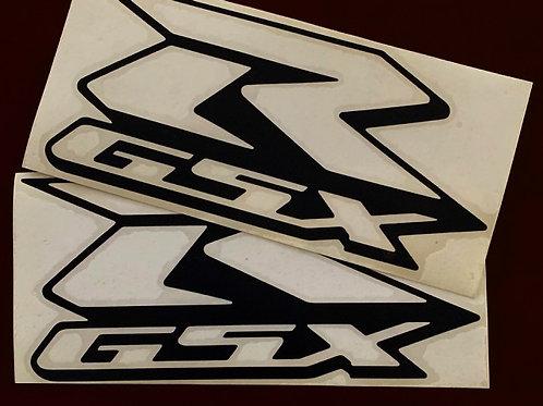 vinilo recortado clasica moto GSX-R