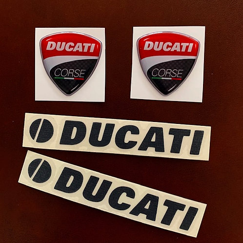 Adhesivos moto Ducati Corse