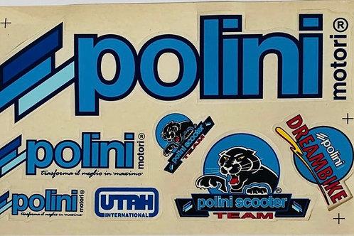 Pegatinas Polini para moto
