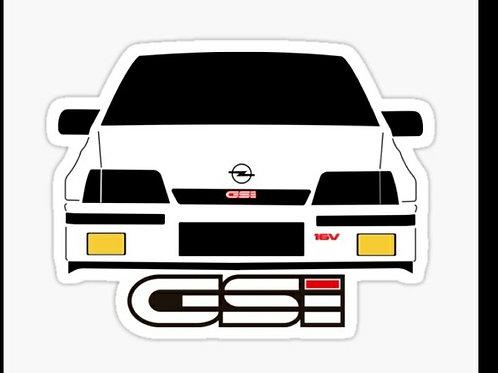 Adhesivo GSI para coche