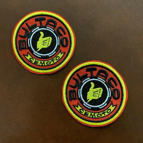 bordado logo Bultaco