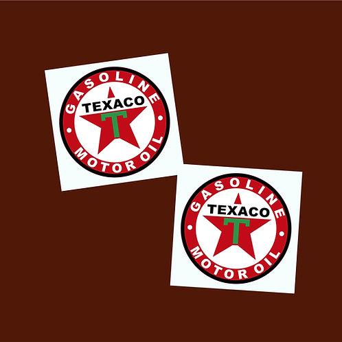 adhesivos decorativos Texaco Motor Oil