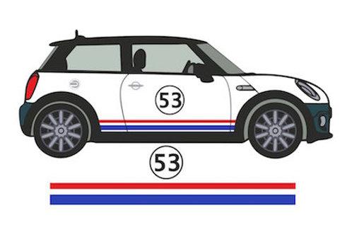 Adhesivos coche franjas laterales 53