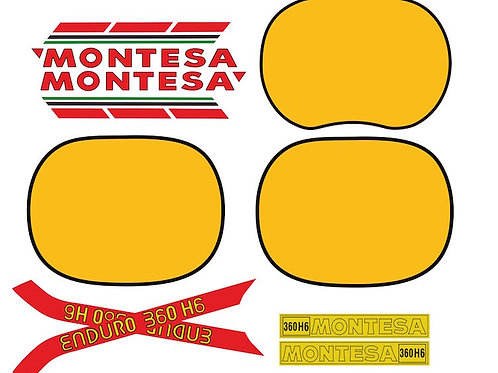 kit para Montesa Enduro 360 H6 para deposito,