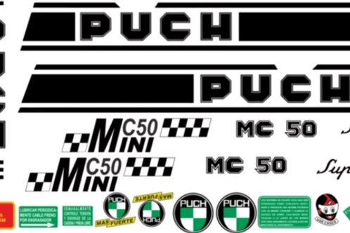 adhesivos Puch mini c50
