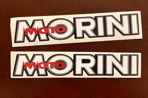 Moto Morini pegatinas clásicas