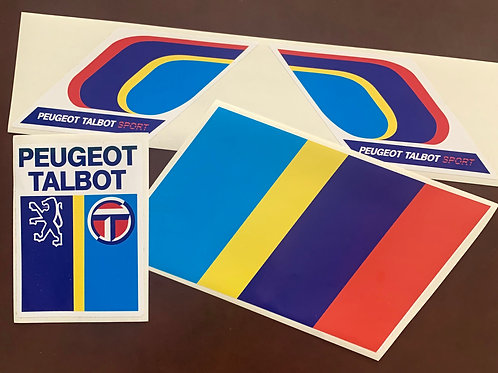 adhesivos clásicos Peugeot Talbot