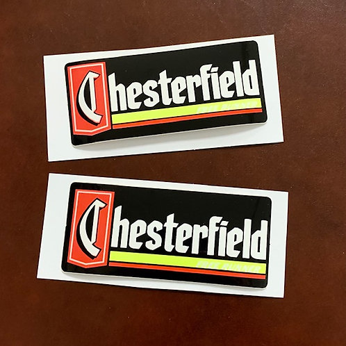 pegatina clásica moto Chesterfield