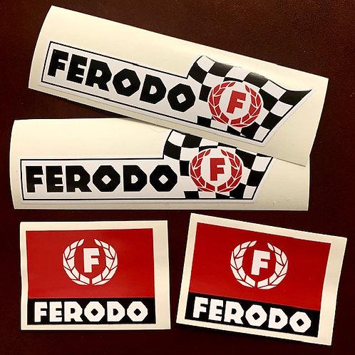 adhesivos clásicos Ferodo para coche
