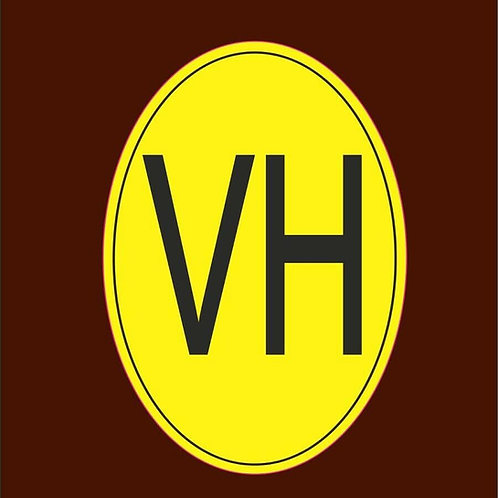 vinilo siglas vehículo histórico VH