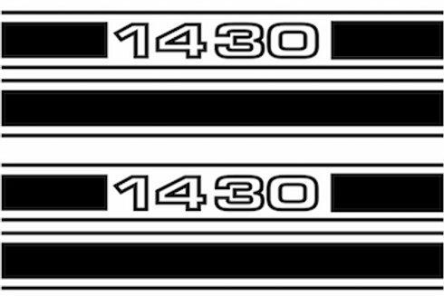 adhesivos bandas laterales Seat 1430