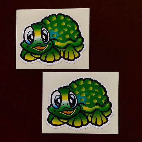 adhesivos para moto o coche decoración tortugas