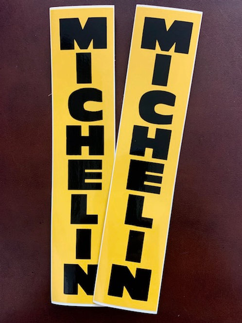 Pegatinas Michelin color amarillo