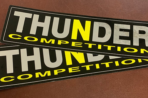 Adhesivos Thunder competition