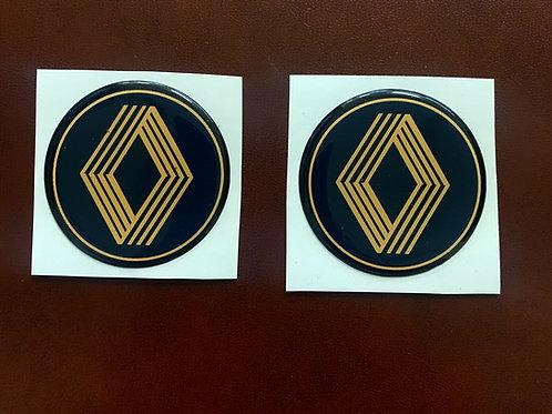 pegatinas con relieve anagrama Renault