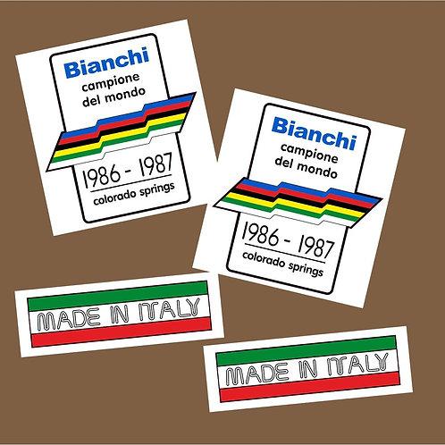 adhesivos decorativos moto Bianchi
