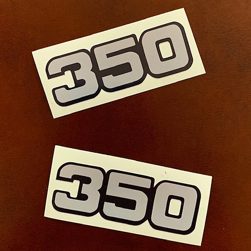 Adhesivos laterales moto 350
