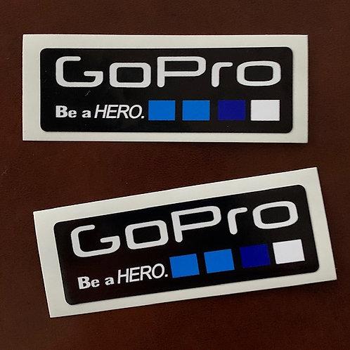 adhesivo Go Pro Hero para decoración