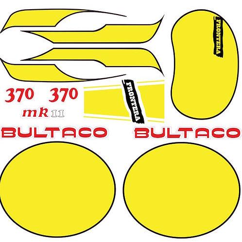 Kit Bultaco 370 Frontera amarillo