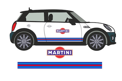 Pegatinas  Franjas Laterales Martini