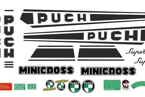 Kit adhesivos marca moto Puch