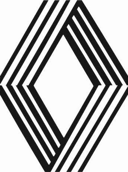 adhesivo anagrama vintage Renault