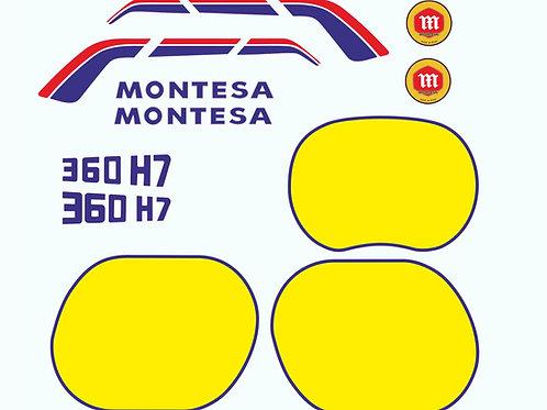 vinilos montesa 360 h7