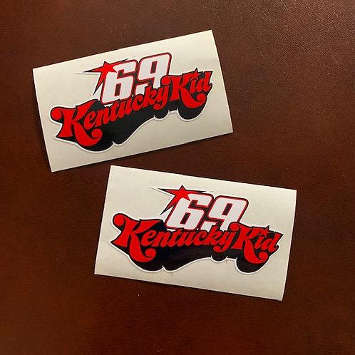 adhesivos logo Kentucky Kid 69