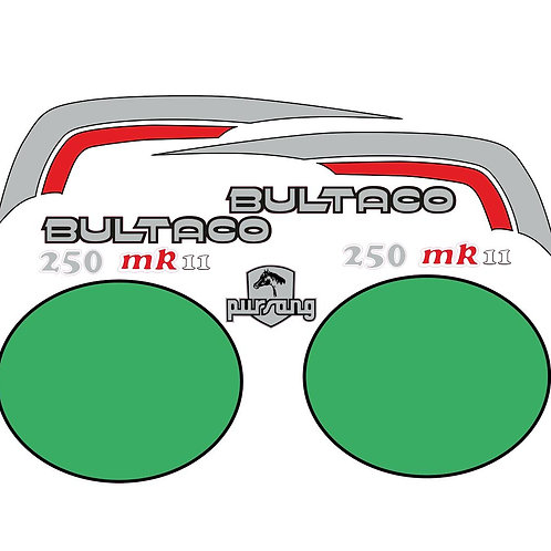 kit vinilos Bultaco pursang 250