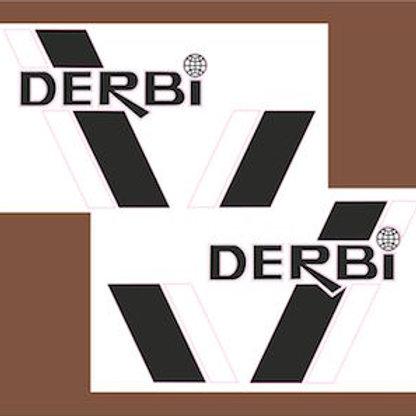 Adhesivos moto Derbi deposito
