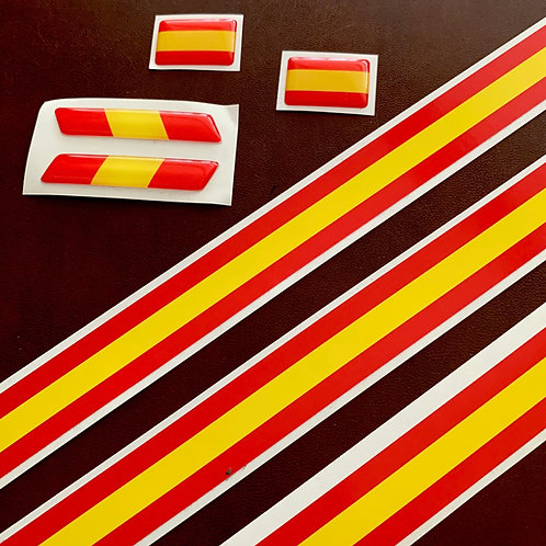pegatinas bandera España