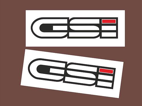 Pegatinas coche GSI