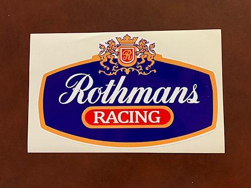 pegatina decoración coche Rothmans