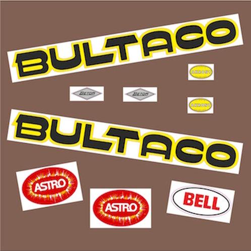 Kit adhesivos Bultaco Astro