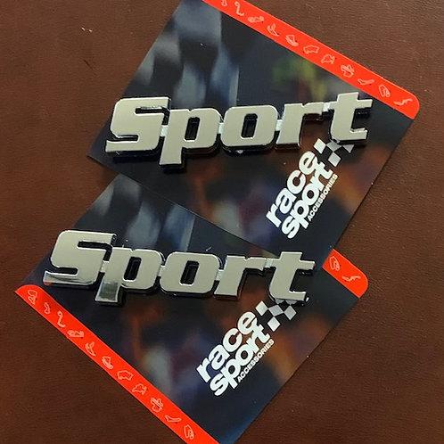 pegatina decoración sport race