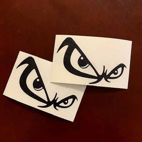 pegatinas decorativas ojos
