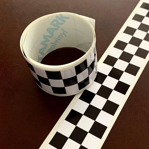 adhesivos par lateral coche con cuadros